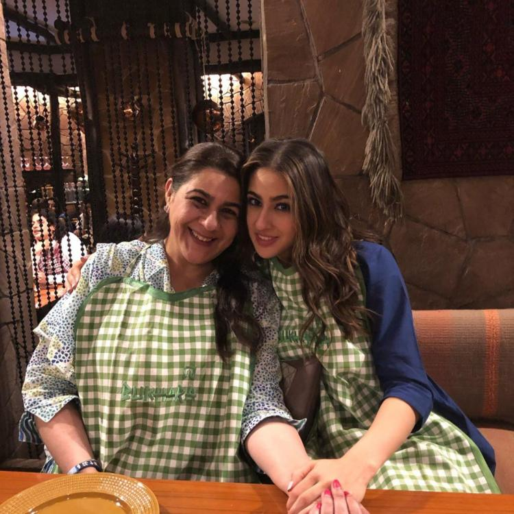 Sara Ali Khan shares a lovely picture with mom Amrita Singh to mark the occasion of Eid; View Post