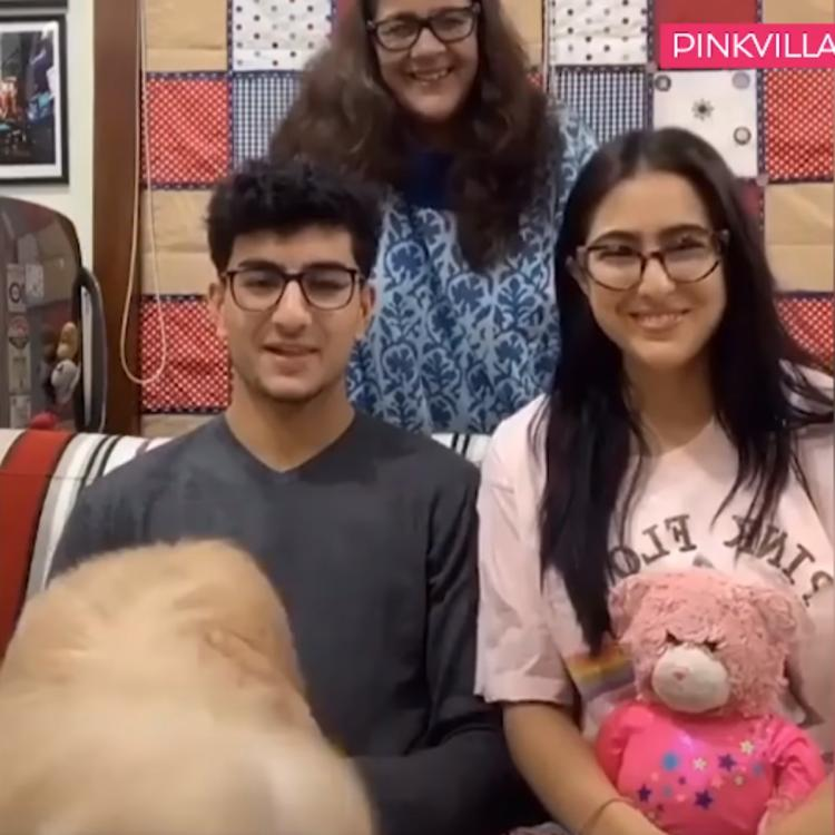 Sara Ali Khan & Ibrahim Ali Khan teasing each other amidst a game is every sibling ever; WATCH