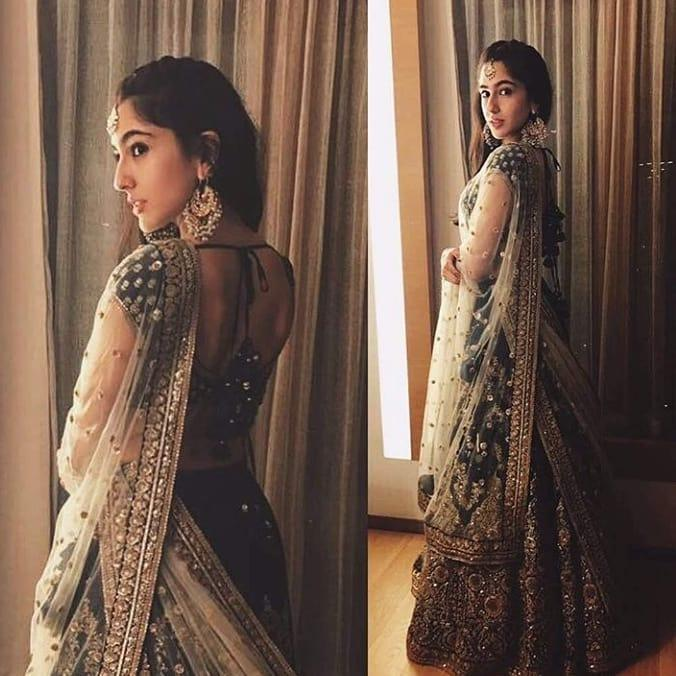 Sara Ali Khan looks ethereal as she goes down the desi route in a gorgeous lehenga; Yay or Nay?