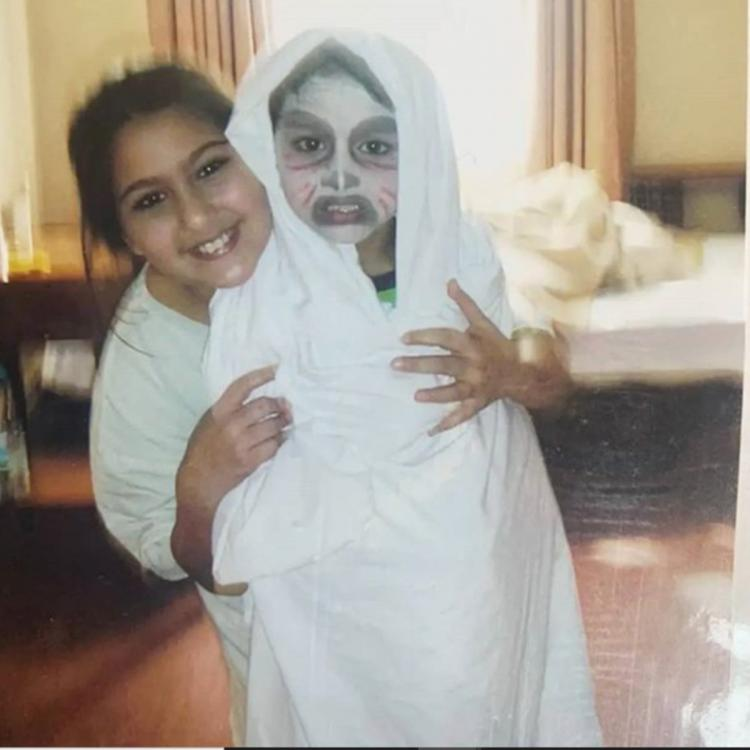Sara Ali Khan's throwback photo with Ibrahim Ali Khan is definitely cute but his face art has our attention