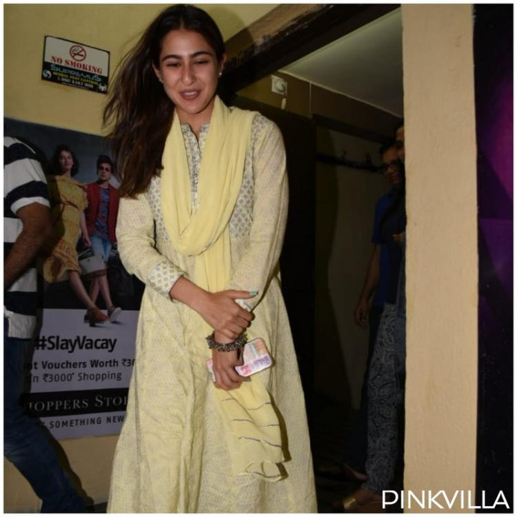 PHOTOS: Sara Ali Khan has her Sunday night sorted as she enjoys movie outing with Ibrahim Ali Khan & mother