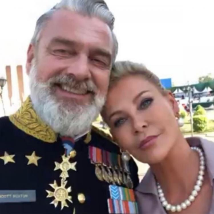 RRR: Alison Doody shares BTS photo with Ray Stevenson from the sets of SS Rajamouli directorial