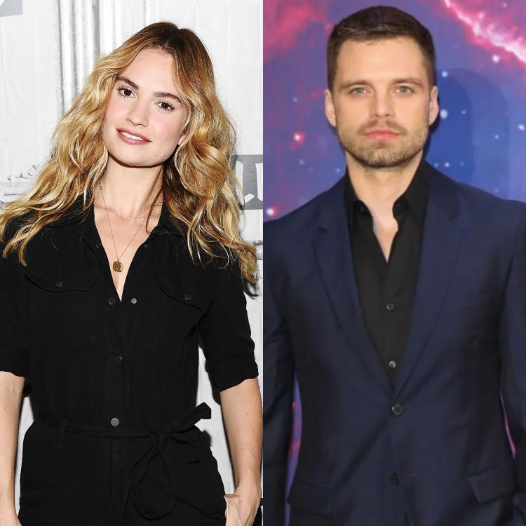 Sebastian Stan and Lily James' first look from Pam & Tommy released