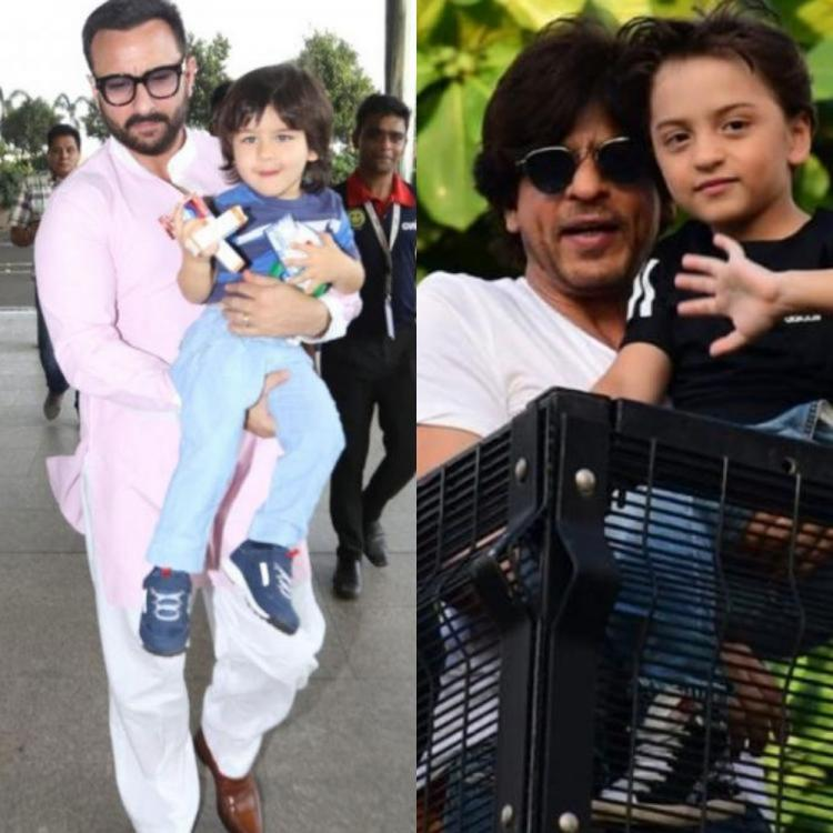 Shah Rukh Khan & AbRam or Saif Ali Khan & Taimur: Who is the cutest father and son duo in Bollywood? COMMENT
