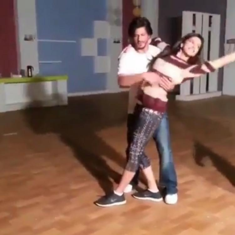 Shah Rukh Khan & Deepika Padukone rehearsing in a throwback VIDEO makes us wish to see them in a film again