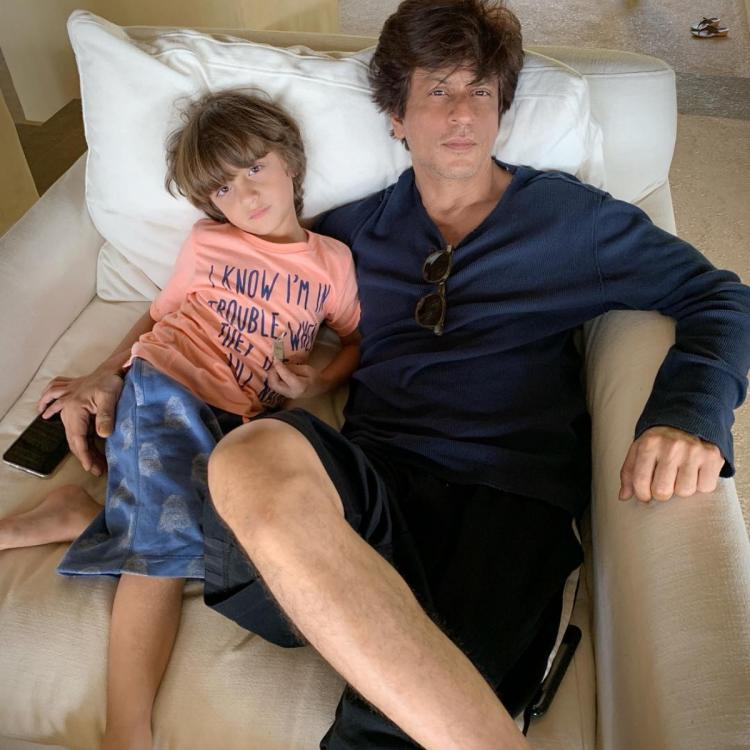 Shah Rukh Khan is one proud father as his little 'Gold Medal' AbRam wins at Sports Day; Check it out