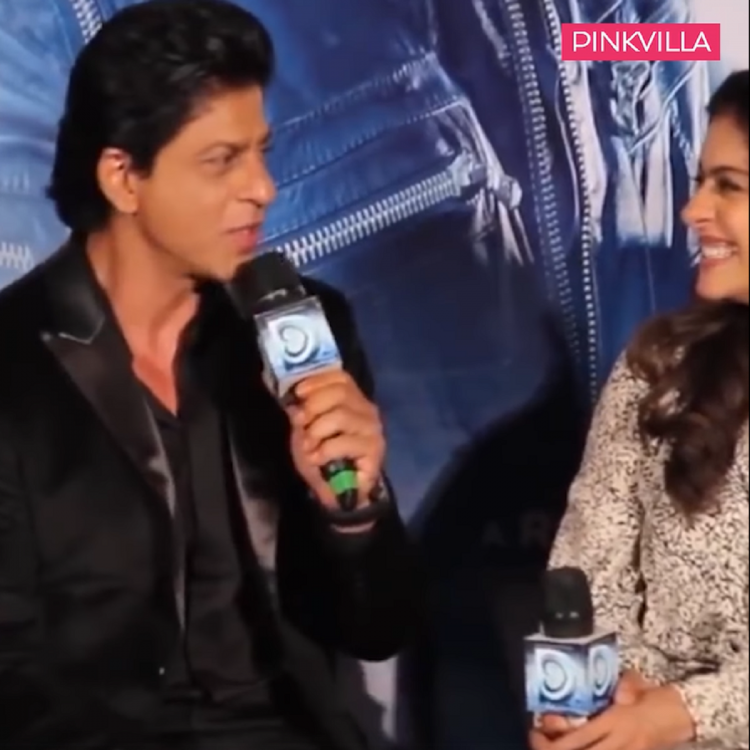Shah Rukh Khan responds to Deepika Ranbir's palangtod comment about him and kajol