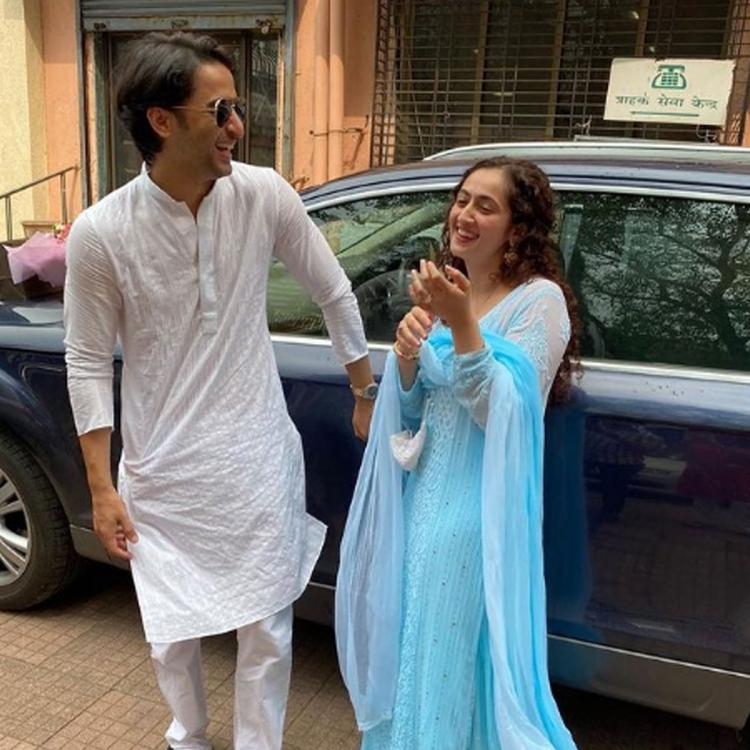 Shaheer Sheikh & Ruchikaa Kapoor share lovely posts after wedding & we can't get enough of their mushy romance