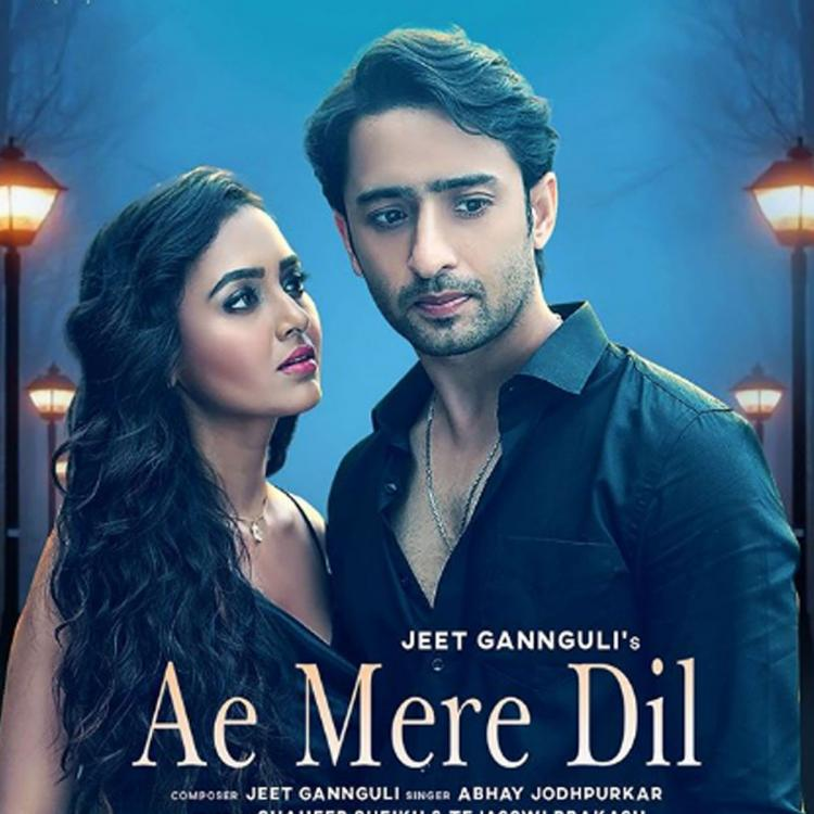 Ae Mere Dil First Look: Tejasswi Prakash can't take her eyes off Shaheer Sheikh as they pose together
