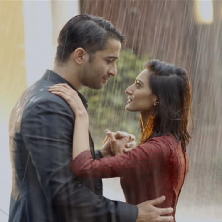 Shaheer Sheikh & Erica Fernandes' romantic dance in rain from KRPKAB is about cherishing small moments; Watch