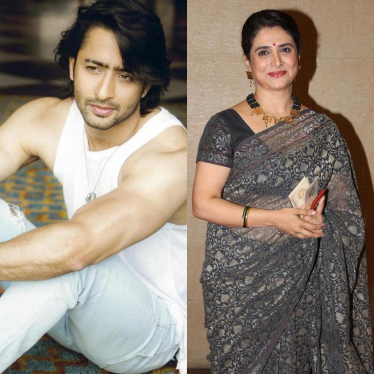 Shaheer Sheikh calls KRPKAB co star Supriya Pilgaonkar 'Maa' as they chat about YRHPK's return