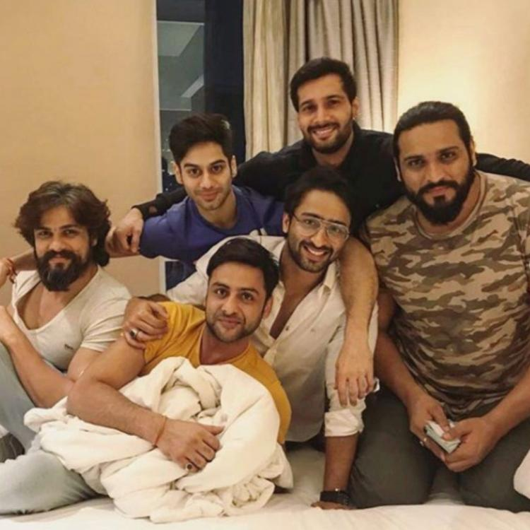 Shaheer Sheikh shares some of his favourite photos with Mahabharat co stars and it is nostalgic