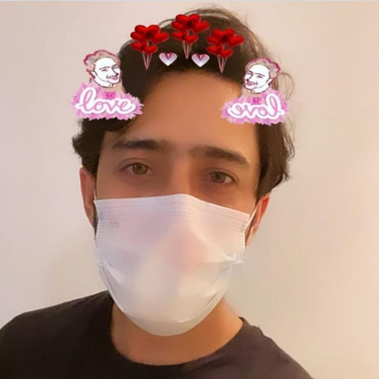 Yeh Rishtey Hain Pyaar Ke actor Shaheer Sheikh masks up but not without cute filters and fans love it