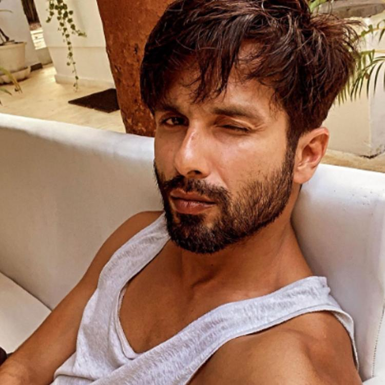 Shahid Kapoor makes time for some 'laid back vibes' with an uber handsome selfie amid his busy schedule