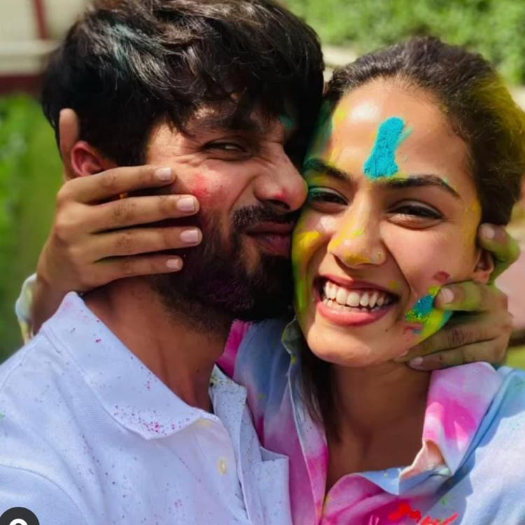 Shahid Kapoor gives glimpse of his mushy Holi celebrations with Mira Rajput & Ishaan Khatter is all hearts