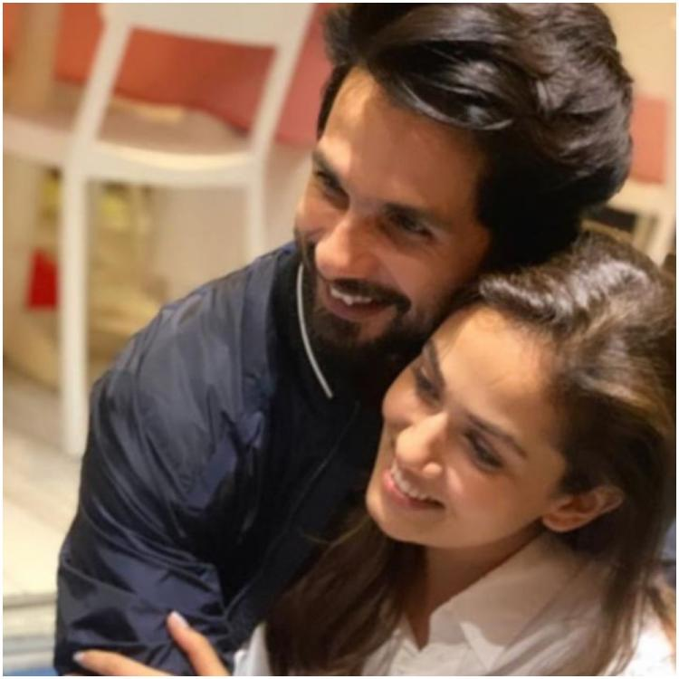 Shahid Kapoor, wife Mira Rajput are a poster couple of love in THIS throwback photo and we are in awe of them