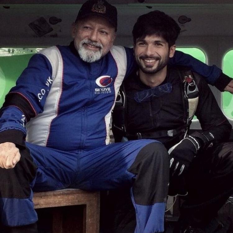 Shahid Kapoor wishes dad Pankaj Kapur on his birthday in an endearing way: Shares happy PIC with veteran actor