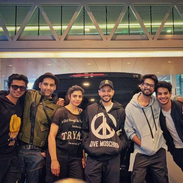 Shahid Kapoor, Ishaan Khatter, Kunal Kemmu & gang know how to do Saturdays right & it also includes pizzas