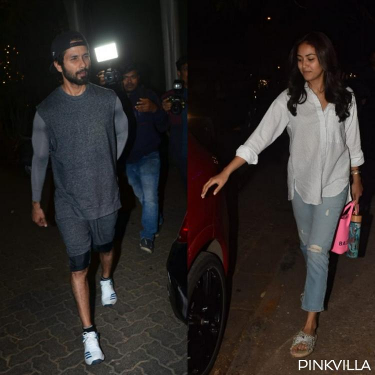 PHOTOS: Shahid Kapoor takes on the field as he preps for Jersey, Mira Rajput goes out and about in the city