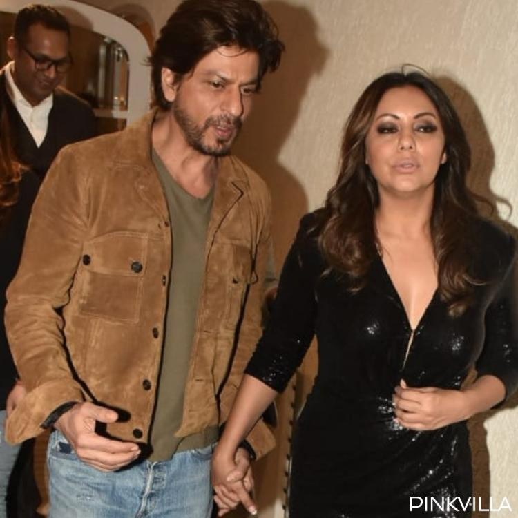 Shah Rukh Khan and Gauri Khan make heads turn as they attend an event together; See Pics