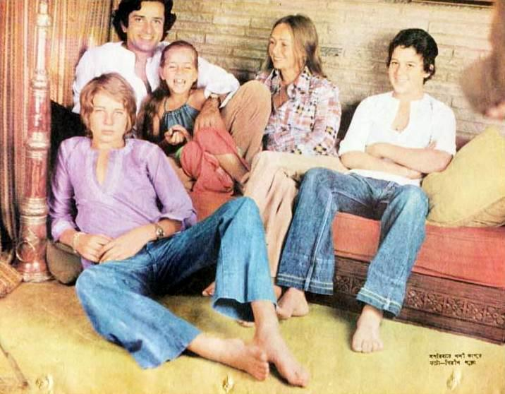 Photos,rare,Kids,shahsi kapoor,Jennifer Kendal