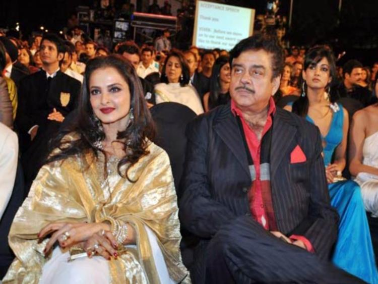 Rekha and Shatrughan Sinha ended their fight 23 years after Khoon Bhari Maang, do you know who solved it?