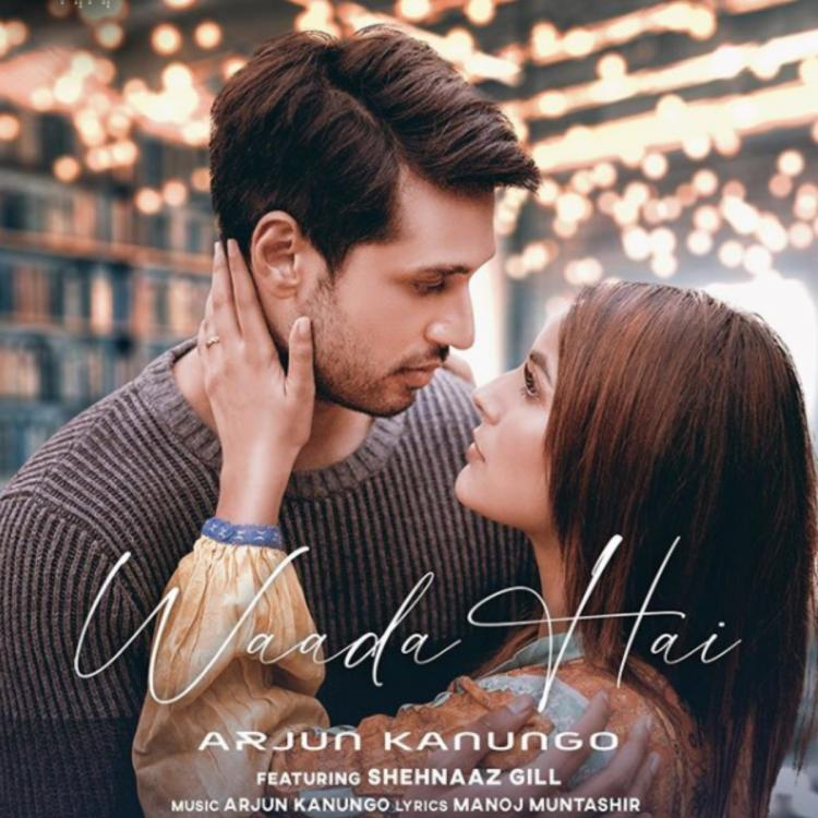 Shehnaaz Gill surprises fans with her FIRST LOOK from the music video 'Waada Hai' with Arjun Kanungo
