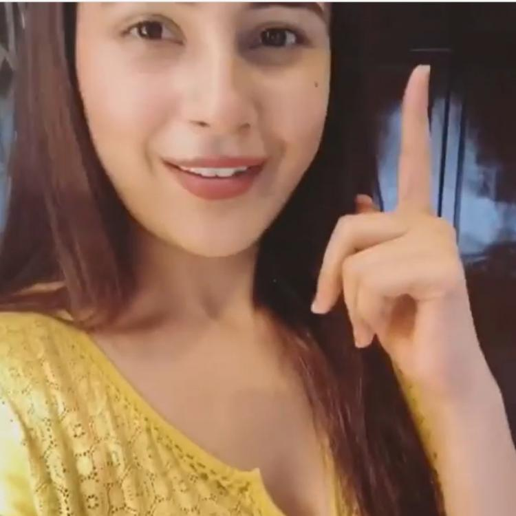Shehnaaz Gill flashes her infectious smile and looks delightful as she enjoys time at home; Watch Video