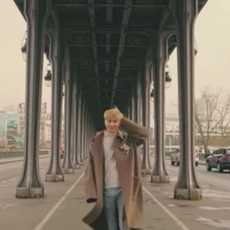 SHINee member Taemin strolls around Paris in teaser video of Think of You