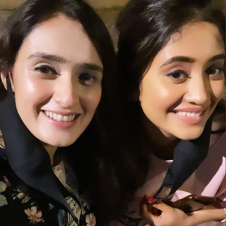 Shivangi Joshi and Pankhuri Awasthy's fun time