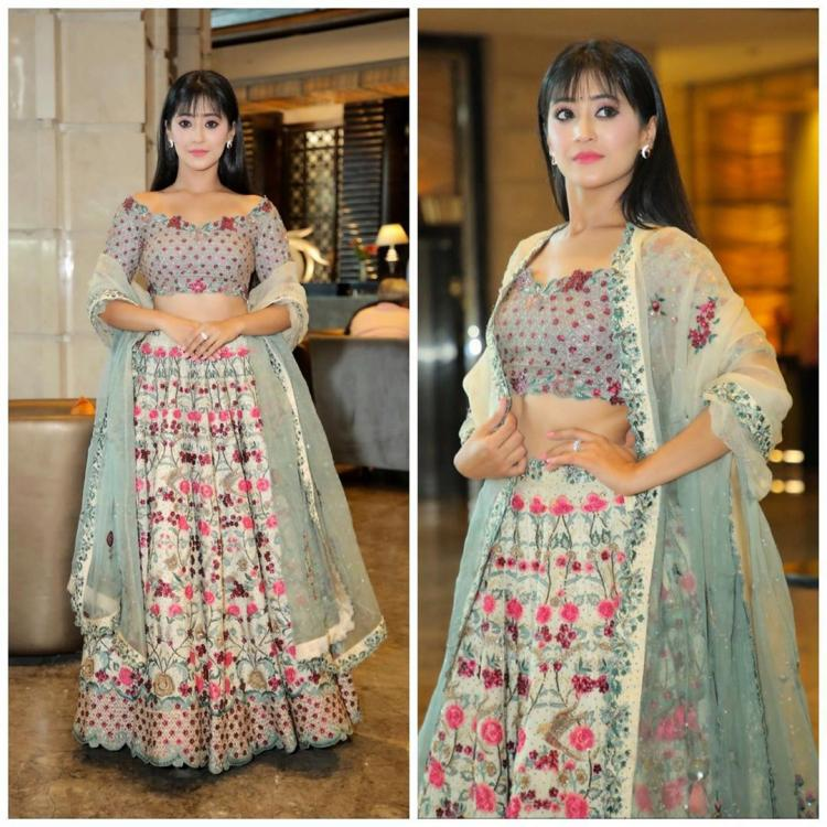 Yeh Rishta Kya Kehlata Hai: Shivangi Joshi looks like a total stunner in ethnic look for an event