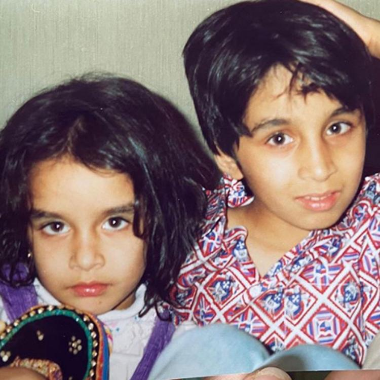 Shraddha Kapoor pens a sweet birthday note for brother Siddhanth Kapoor; Shares an unseen childhood picture