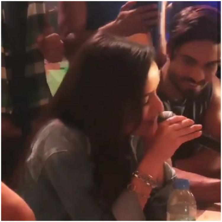 Shraddha Kapoor sings ABCD 2 song 'Sun Saathiya' on the sets of Street Dancer 3D & it is soulful; watch VIDEO