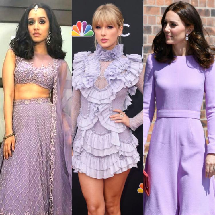 Shraddha Kapoor, Taylor Swift to Kate Middleton: How EVERY celebrity has sported the Lilac shade