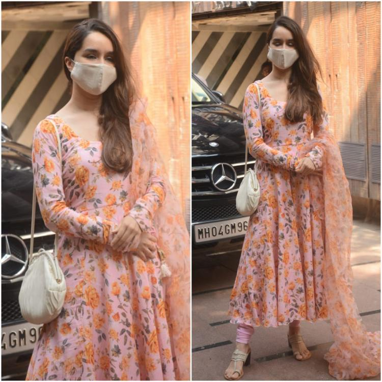 Shraddha Kapoor serves a lowkey festive outfit inspiration PERFECT for a Puja at home
