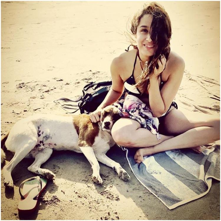 Shraddha Kapoor finds a pawdorable friend as she hits the beach post Baaghi 3 release; See PHOTO