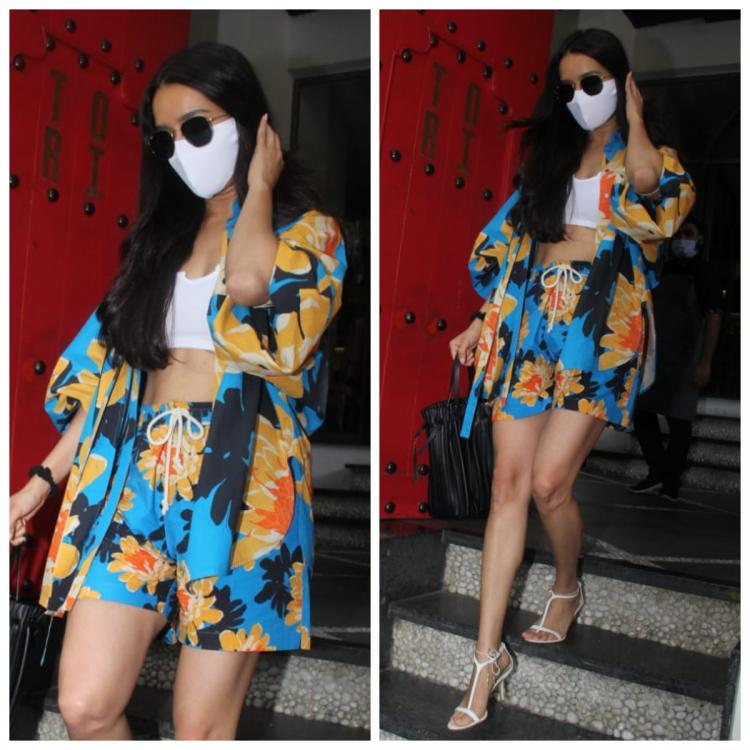 Shraddha Kapoor makes a colourful statement as she steps out in a funky printed set; Yay or Nay?