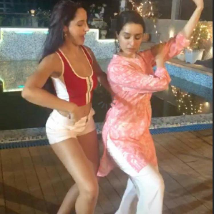 Shraddha Kapoor vs Nora Fatehi in a dance battle video throwback