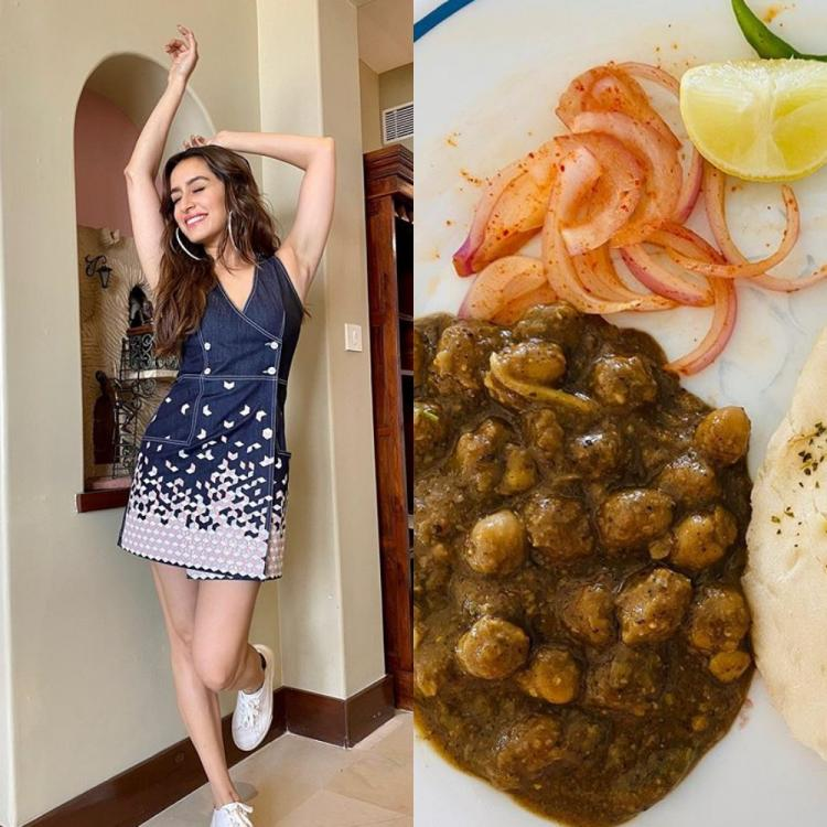 Shraddha Kapoor's monsoon menu consists of Delhi's famous 'Chole Kulche' and fans love her cheat meal; PHOTO