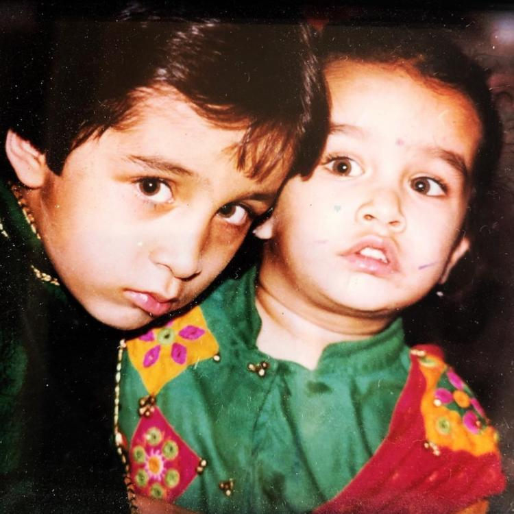 Children's Day 2019: Shraddha Kapoor & Siddhanth Kapoor look like two cute munchkins in this throwback pic