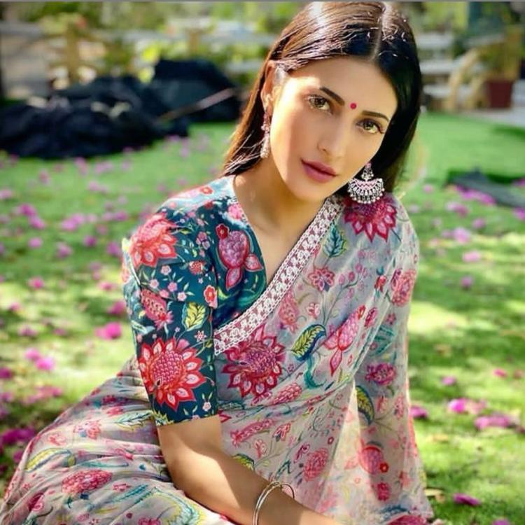 Shruti Haasan recalls childhood days with a throwback PIC: Keeping the child alive in yourself is the toughest