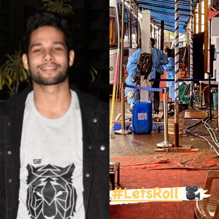 Siddhant Chaturvedi shoots in Goa