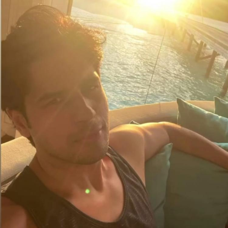 Sidharth Malhotra basks in the glow of the sun as he shares a sneak peek of his Maldives vacay; PHOTOS