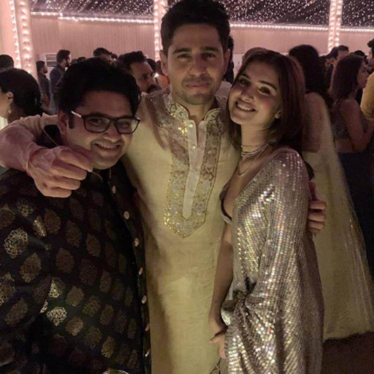 Tara Sutaria & Sidharth Malhotra flashing their smiles in a throwback PHOTO is unmissable; Check it out