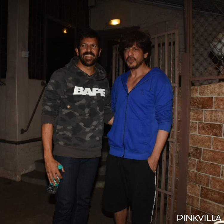 PHOTOS: Shah Rukh Khan spotted with director Kabir Khan; new movie on the cards?