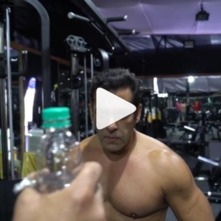 Salman Khan opts a hilarious way of completing the #BottleCapChallenge along with a special message; WATCH