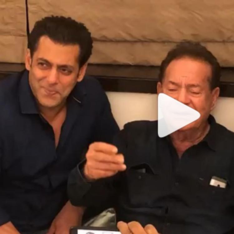Salman Khan singing along with father Salim Khan in THIS video will definitely melt your hearts