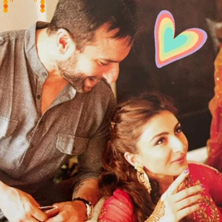 Soha Ali Khan shares a beautiful pic with brother Saif Ali Khan on Bhai Dooj and it is sheer love