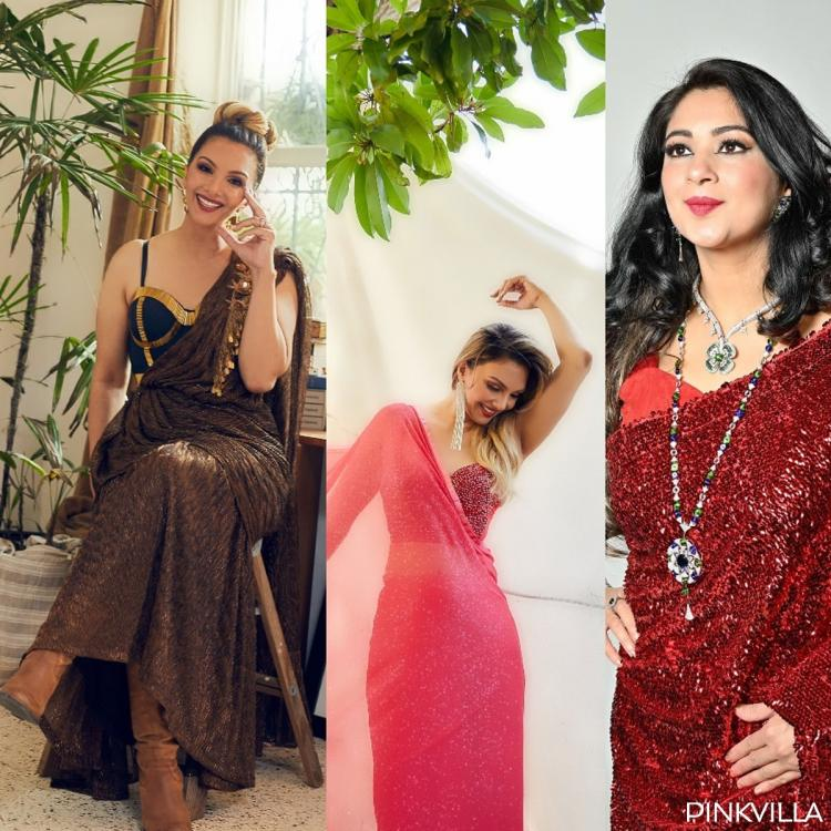 EXCLUSIVE: Somy Ali turns muse for Anjali Phougat as she dons saree after 16 years