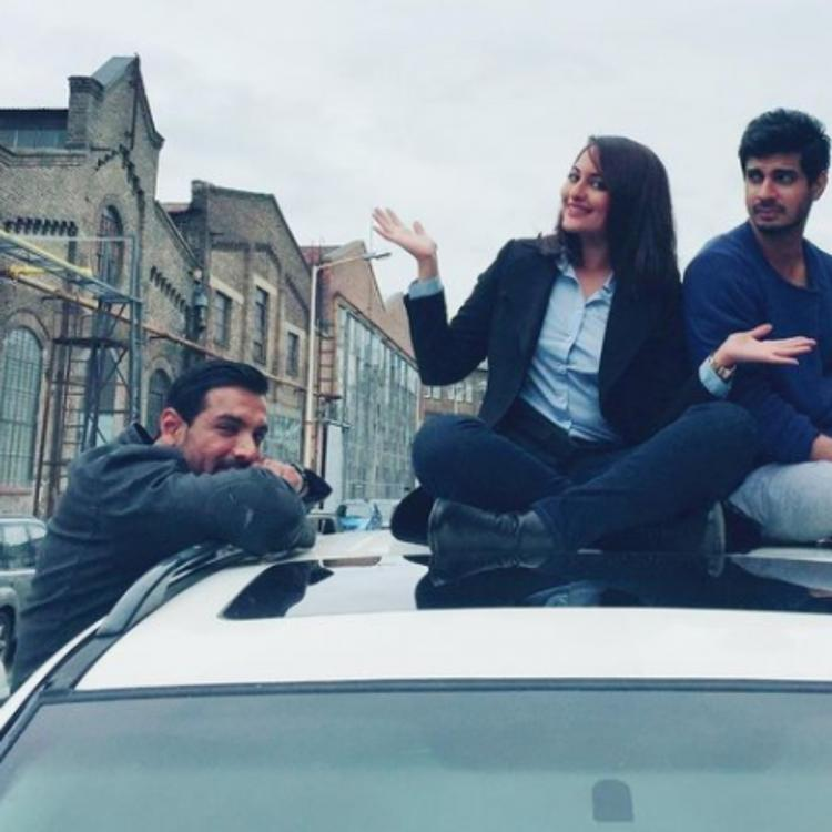 Force 2 turns 4: Sonakshi Sinha shares behind the scenes pictures; Says 'Proud To Be Part of Film'